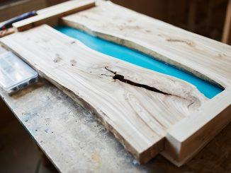 Epoxidharz und Holz