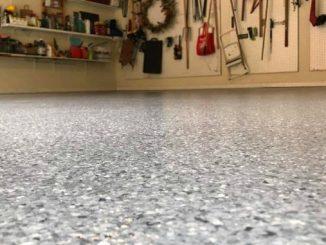 1a Beschichtung und Versiegelung des Werkstattbodens mit Epoxidharz
